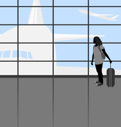 Traveler people vector