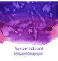 Universe watercolor texture vector