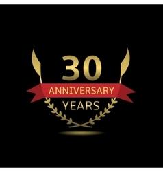 30 Anniversary years vector image