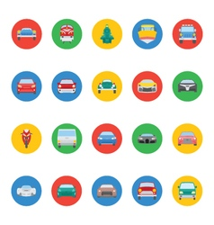 Transports Icons 4 vector image vector image