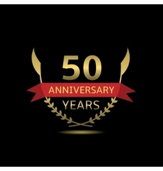 50 Anniversary years vector image vector image