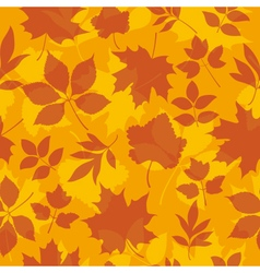 autumn seamless vector image