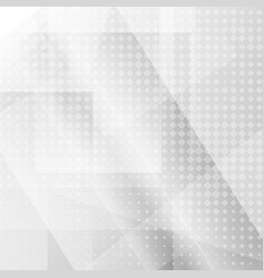 white geometric texture background vector image vector image