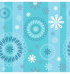 Abstract blue pattern vector image vector image