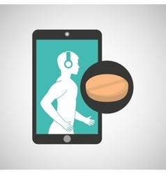 healthcare app medicine pharmacy graphic vector image
