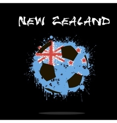 Abstract Soccer ball vector image