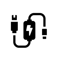 adapter icon eps file vector image