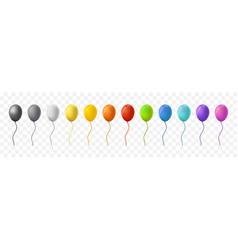 balloon set vector image