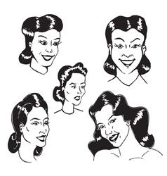 Figures Women vector