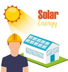 Solar energy design vector