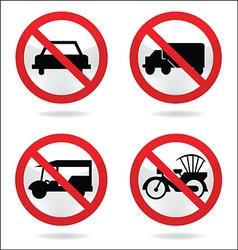Traffic sign 1 vector