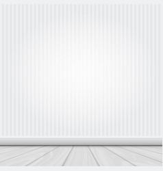 white interior vector image vector image