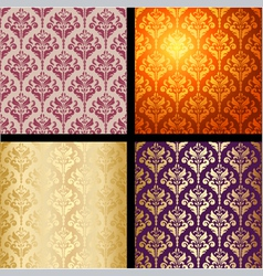 seamless background vintage collection vector image