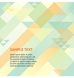 Abstract geomitric background vector image vector image