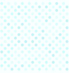 Cyan polka dot pattern seamless dot background vector