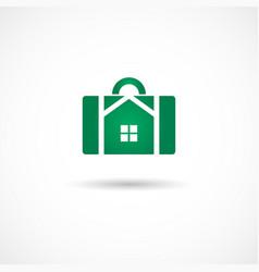 housebag icon vector image