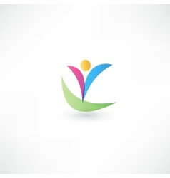 Success people icon vector image