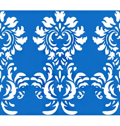 Damask wallpaper design vector