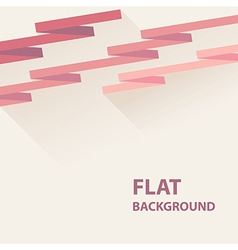 flat background 8 vector image