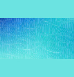 futuristic hud ui grid music sound waves set vector image
