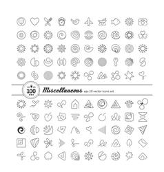 Miscellaneous symbols vector