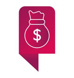 saving money concept cartoon vector image