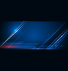 Speed and motion blur over dark blue background 4 vector