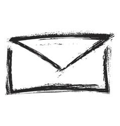 letter symbol vector image vector image