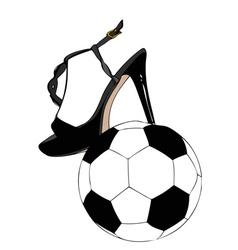 Sexy Football vector image vector image