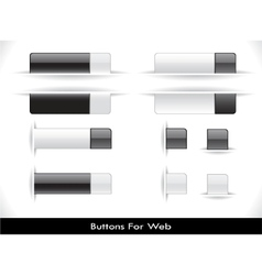 web elements pack vector image vector image