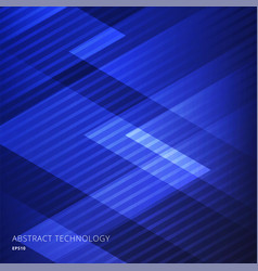 abstract elegant geometric triangles blue vector image