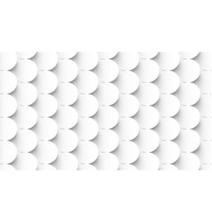 abstract white circles repeating pattern vector image