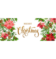Christmas banner white vector