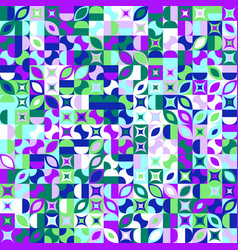 Colorful random curved shape pattern background vector
