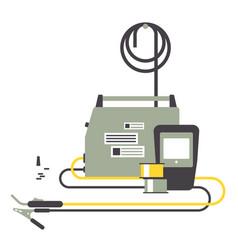 Electrical welding equipment vector