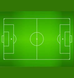 green grass football field soccer field vector image