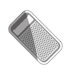 kitchen grater isolated vector image
