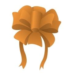 New cartoon bow symbol vector