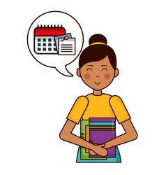 people teacher day vector image