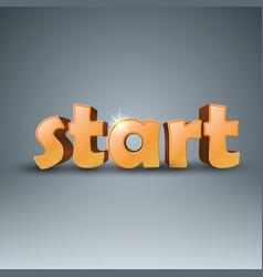 Start 3d business infographics vector