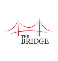 The bridge business vector