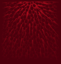 abstract background from many red circle vector image vector image