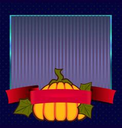 frame halloween day vector image