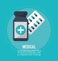 Medical pharmacy medicine health vector