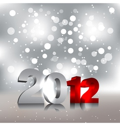 new year design template vector image vector image