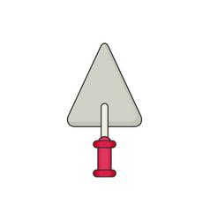 trowel flat vector image