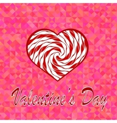 Valentines Day Romantic Banner vector image