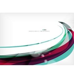Blue purple design background color wave vector image