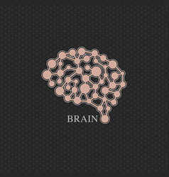 Brain logo design template icon vector