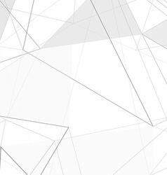 Contemporary hi-tech abstract triangle design vector image